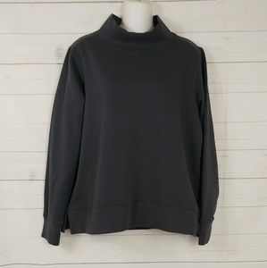 "Marine Layer ""Evie"" Funnel Neck Sweatshirt Large"